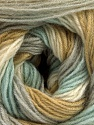 Fasergehalt 60% Acryl, 20% Angora, 20% Wolle, White, Olive Light Green, Mint Green, Brand Ice Yarns, Grey, fnt2-53560