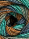 Fiber Content 60% Acrylic, 20% Wool, 20% Angora, Mint Green, Brand ICE, Grey, Brown, Blue, Yarn Thickness 2 Fine  Sport, Baby, fnt2-53563
