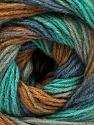 Состав пряжи 60% Акрил, 20% Шерсть, 20% Ангора, Mint Green, Brand Ice Yarns, Grey, Brown, Blue, fnt2-53563