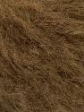 Fasergehalt 37% Acryl, 28% Polyamid, 21% Mohair, 13% Wolle, 1% Elastan, Brand Ice Yarns, Brown, fnt2-53705