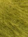 Fasergehalt 37% Acryl, 28% Polyamid, 21% Mohair, 13% Wolle, 1% Elastan, Olive Green, Brand Ice Yarns, fnt2-53711