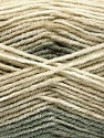 Fasergehalt 70% Acryl, 30% Wolle, Khaki, Brand Ice Yarns, Beige Shades, fnt2-53766