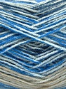Fasergehalt 70% Acryl, 30% Wolle, Brand Ice Yarns, Camel, Blue Shades, fnt2-53771