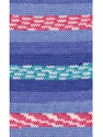 Fasergehalt 100% Acryl, White, Turquoise, Pink, Brand Ice Yarns, Blue Shades, fnt2-53780