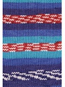 Fasergehalt 100% Acryl, White, Turquoise, Red, Brand Ice Yarns, Blue Shades, fnt2-53782