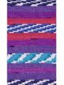 Состав пряжи 100% Акрил, White, Turquoise, Red, Purple Shades, Brand Ice Yarns, Blue, fnt2-53783