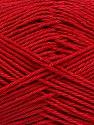 Состав пряжи 100% Мерсеризованный Хлопок, Brand Ice Yarns, Dark Red, fnt2-53797