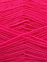 Fiber Content 60% Merino Wool, 40% Acrylic, Brand ICE, Bright Pink, Yarn Thickness 2 Fine  Sport, Baby, fnt2-53825