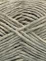 Fiber Content 88% Cotton, 12% Polyamide, Light Grey Melange, Brand Ice Yarns, fnt2-53866