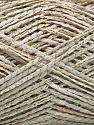 Fasergehalt 90% Acryl, 10% Metallic Lurex, White, Brand Ice Yarns, Gold, fnt2-53994