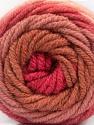Fasergehalt 70% Acryl, 30% Wolle, Salmon, Rose Pink, Rose Brown, Pink, Brand Ice Yarns, fnt2-54070