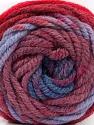 Fasergehalt 70% Acryl, 30% Wolle, Red, Maroon, Lilac, Brand Ice Yarns, Blue, fnt2-54075