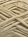 Fiber Content 60% Cotton, 40% Acrylic, Light Beige, Brand Ice Yarns, fnt2-54113