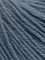 Fasergehalt 100% Wolle, Smoke Blue, Brand Ice Yarns, fnt2-54117