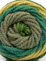 Fiber Content 70% Acrylic, 30% Wool, Khaki, Brand Ice Yarns, Green Shades, fnt2-54118