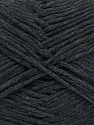 Please note that the yarn weight and the ball length may vary from one color to another for this yarn. Fasergehalt 100% Baumwolle, Brand Ice Yarns, Anthracite Black, fnt2-54131