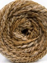 Fiber Content 38% Wool, 32% Acrylic, 20% Alpaca, 10% Polyamide, Light Brown, Brand Ice Yarns, Cream, Beige, fnt2-54178