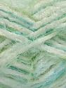 Contenido de fibra 70% Micro fibra, 30% Poliamida, White, Turquoise, Mint Green, Brand Ice Yarns, fnt2-54196