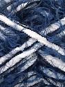 Fasergehalt 70% Mikrofaser, 30% Polyamid, White, Navy, Brand Ice Yarns, Blue, fnt2-54200