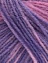 Состав пряжи 100% Акрил, Pink Shades, Lilac Shades, Brand Ice Yarns, fnt2-54229