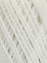 Fasergehalt 100% Metallic Lurex, White, Brand Ice Yarns, fnt2-54245