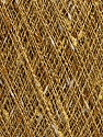 Fasergehalt 9% Metallic Lurex, 35% Baumwolle, 31% Acryl, 25% Polyamid, Yellow, White, Brand Ice Yarns, Gold, fnt2-54246