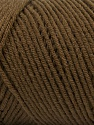 Items made with this yarn are machine washable & dryable. Fiber Content 100% Dralon Acrylic, Brand ICE, Brown, Yarn Thickness 4 Medium  Worsted, Afghan, Aran, fnt2-54251