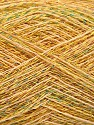 Fasergehalt 90% Baumwolle, 10% Metallic Lurex, Yellow, Brand Ice Yarns, Gold, fnt2-54284