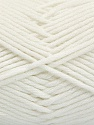 Fiber Content 50% SuperFineNylon, 50% SuperFineAcrylic, White, Brand Ice Yarns, fnt2-54328