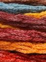 Fasergehalt 66% Acryl, 24% Wolle, 10% Polyamid, Yellow, Orange, Brand Ice Yarns, Burgundy, Brown, Blue, fnt2-54335