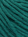 Fiber Content 55% Acrylic, 45% Wool, Brand ICE, Dark Green, Yarn Thickness 5 Bulky  Chunky, Craft, Rug, fnt2-54380