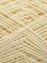 Fasergehalt 50% Acryl, 50% Baumwolle, Brand Ice Yarns, Cream, fnt2-54398