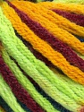 Fasergehalt 50% Wolle, 50% Acryl, Neon Green, Brand Ice Yarns, Gold, Burgundy, Blue, fnt2-54412