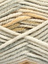 Fasergehalt 80% Acryl, 20% Polyamid, White, Light Grey, Khaki, Brand Ice Yarns, Beige, fnt2-54414
