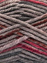 Fasergehalt 80% Acryl, 20% Polyamid, Pink, Brand Ice Yarns, Grey, Brown, fnt2-54418