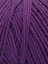 Items made with this yarn are machine washable & dryable. Состав пряжи 100% Dralon Acrylic, Purple, Brand Ice Yarns, Yarn Thickness 4 Medium  Worsted, Afghan, Aran, fnt2-54426