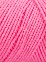 Items made with this yarn are machine washable & dryable. Fiber Content 100% Dralon Acrylic, Pink, Brand ICE, Yarn Thickness 4 Medium  Worsted, Afghan, Aran, fnt2-54427