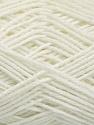 Fasergehalt 50% Polyamid, 50% Acryl, White, Brand Ice Yarns, fnt2-54437