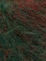 Fasergehalt 63% Acryl, 37% Wolle, Red, Brand Ice Yarns, Green, Burgundy, fnt2-54451