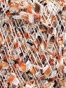 Состав пряжи 60% Полиамид, 40% Полиэстер, White, Orange, Brand Ice Yarns, Brown, fnt2-54482