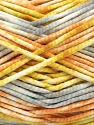 Fasergehalt 100% Exoline, White, Olive Light Green, Light Orange, Brand Ice Yarns, Grey, fnt2-54486
