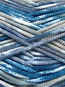 Состав пряжи 100% Exoline, White, Turquoise, Indigo Blue, Brand Ice Yarns, fnt2-54489