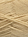 Worsted  Fasergehalt 100% Acryl, Light Beige, Brand Ice Yarns, fnt2-54495