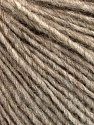 Fasergehalt 50% Merinowolle, 25% Acryl, 25% Alpaka, Brand Ice Yarns, Beige Melange, fnt2-54497