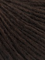 Состав пряжи 50% Шерсть мериноса, 25% Альпака, 25% Акрил, Brand Ice Yarns, Dark Brown, fnt2-54501