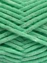 Fiber Content 100% Micro Fiber, Mint Green, Brand ICE, Yarn Thickness 4 Medium  Worsted, Afghan, Aran, fnt2-54509