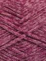 Состав пряжи 100% Хлопок, Pink Melange, Brand Ice Yarns, fnt2-54512