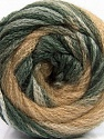 Fasergehalt 90% Acryl, 10% Polyamid, Brand Ice Yarns, Grey Shades, Cream, Beige, fnt2-54521