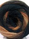Состав пряжи 90% Акрил, 10% Полиамид, Navy, Brand Ice Yarns, Brown Shades, Black, fnt2-54522