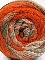 Состав пряжи 90% Акрил, 10% Полиамид, Orange, Light Khaki, Brand Ice Yarns, Beige, fnt2-54526